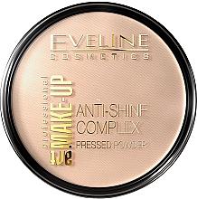 Parfumuri și produse cosmetice Pudră compactă - Eveline Cosmetics Anti-Shine Complex