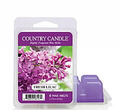 Parfumuri și produse cosmetice Ceară pentru lampă aromatică - Country Candle Fresh Lilac Wax Melts