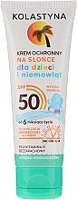 Parfumuri și produse cosmetice Cremă de protecție solară pentru copii SPF 50 - Kolastyna