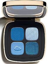 Parfumuri și produse cosmetice Fard pentru sprâncene 4 culori - Artdeco Claudia Schiffer Quad Eye Shadow