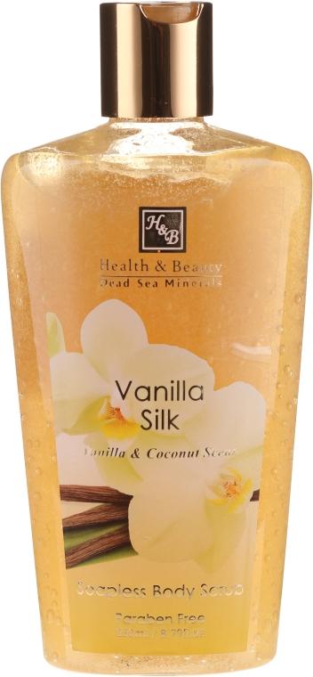 """Peeling fără săpun pentru corp """"Vanilie"""" - Health and Beauty Soapless Body Peeling — Imagine N1"""