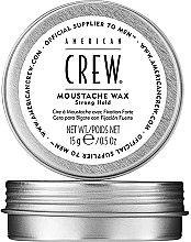 Parfumuri și produse cosmetice Ceară pentru mustăți, fixare puternică - American Crew Official Supplier to Men Moustache Wax Strong Hold