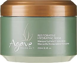 Parfumuri și produse cosmetice Mască de păr - Agave Healing Oil Restorative Hydrating Mask