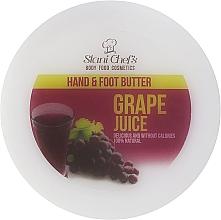 """Parfumuri și produse cosmetice Cremă pentru mâini și picioare """"Struguri"""" - Hristina Cosmetics Stani Chef's Grape Juice Hand & Foot Butter"""