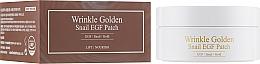 Parfumuri și produse cosmetice Patch-uri de hidrogel cu aur și mucină - The Skin House Wrinkle Golden Snail EGF Patch