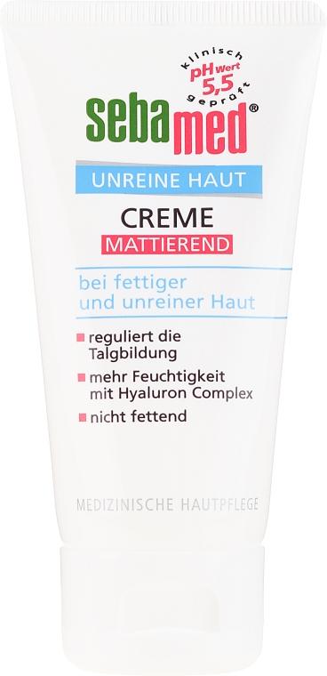 Cremă pentru ten acneic - Sebamed Clear Face Mattifying Cream — Imagine N2