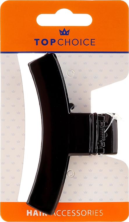 Agrafă de păr 25570, neagră - Top Choice