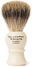Parfumuri și produse cosmetice Pămătuf de ras, P2235 - Taylor of Old Bond Street Shaving Brush Pure Badger size L