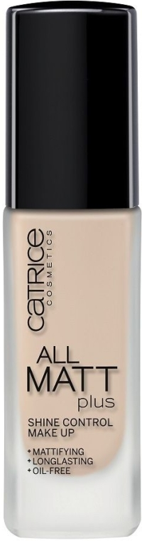 Fond de ten matifiant - Catrice All Matt Plus Shine Control Make Up