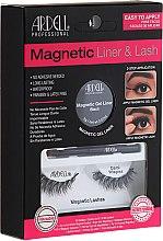 Parfumuri și produse cosmetice Set - Magnetic Lash & Liner Lash Demi Wispies (eye/liner/2g + lashes/2pc)
