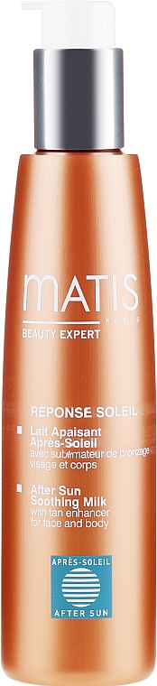 Lapte calmant după plajă - Matis Reponse Soleil After Sun Soothing Milk — Imagine N2