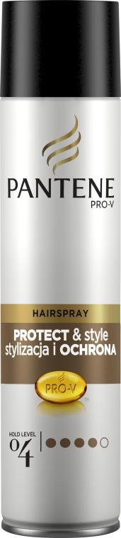 Lac fixativ de păr extra puternic - Pantene Pro-V Style & Schutz Hair Spray — Imagine N1