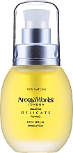 Parfumuri și produse cosmetice Ser pentru față - AromaWorks Delicate Face Serum Oil