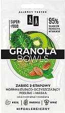 Parfumuri și produse cosmetice Mască peeling pentru ten normal și mixt - AA Granola Bowls