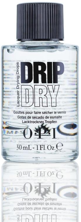 Lac pentru uscarea rapidă a unghiilor - O.P.I Drip Dry Drops — Imagine N1