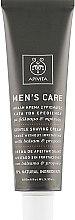 Cremă delicată cu hypericum și propolis pentru ras - Apivita Men Men's Care Gentle Shaving Cream With Hypericum & Propolis — Imagine N2