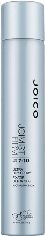 Lac cu uscare rapidă, fixare puternică (7-10) - Joico Style and Finish Joimist Firm Ultra Dry Spray-Hold 7-10 — Imagine N1