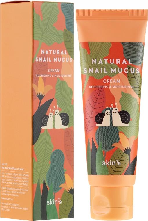 Cremă cu mucus de melc pentru față - Skin79 Natural Snail Mucus Cream