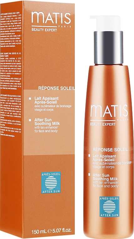 Lapte calmant după plajă - Matis Reponse Soleil After Sun Soothing Milk — Imagine N1
