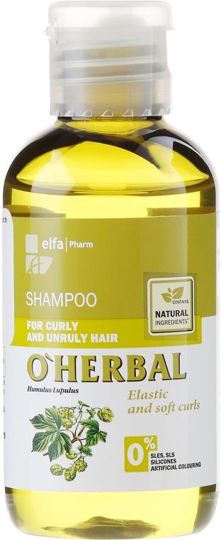 Șampon pentru păr ondulat și rebel cu extract de hamei - O'Herbal