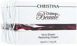 Parfumuri și produse cosmetice Cremă revitalizantă pe bază de extract de struguri - Christina Chateau de Beaute Vino Sheen Restoring Cream