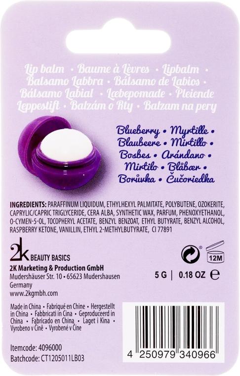 """Luciu de buze """"Coacăză neagră"""" - Cosmetic 2K Blueberry Lip Gloss — Imagine N2"""
