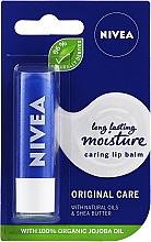"""Parfumuri și produse cosmetice Balsam de buze """"Îngrijire de bază"""" - Nivea Original Care 24H Lip Balm"""
