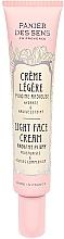 Parfumuri și produse cosmetice Cremă ușoară pentru față - Panier des Sens Radiant Peony Light Face Cream