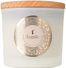 """Parfumuri și produse cosmetice Lumânare parfumată, în suport """"Portocală și scorțișoară"""" - Flagolie Fragranced Candle Orange & Cinnamon"""