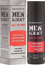 Parfumuri și produse cosmetice Cremă-balsam pentru față - Dermacol Men Agent All In One