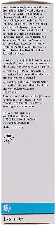 Balsam pentru îngrijirea pielii uscate - Dr. Hauschka Med Ice Plant Body Care Lotion — Imagine N2