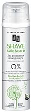 Parfumuri și produse cosmetice Gel de ras - AA Shave Safe&Care