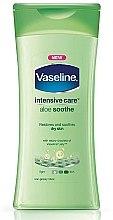 Parfumuri și produse cosmetice Loţiune calmantă pentru corp - Vaseline Intensive Care Aloe Soothe Lotion
