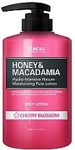 """Parfumuri și produse cosmetice Loțiune de corp """"Flori de cireș"""" - Kundal Honey & Macadamia Body Lotion Cherry Blossom"""