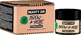 Parfumuri și produse cosmetice Scrub pentru sprâncene - Beauty Jar Brow-A-Holic Eyebrow Scrub