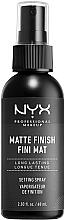 Parfumuri și produse cosmetice Fixator mat pentru machiaj - NYX Professional Makeup Matte Finish Long Lasting Setting Spray
