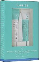 Parfumuri și produse cosmetice Set intensiv de curățare a porilor - Laneige Mini Pore Heating & Clean Duo (f/mask/15ml + f/gel/15ml)