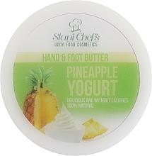 """Parfumuri și produse cosmetice Cremă pentru mâini și picioare """"Ananas"""" - Hristina Cosmetics Stani Chef's Pineapple Yogurt Hand & Foot Butter"""