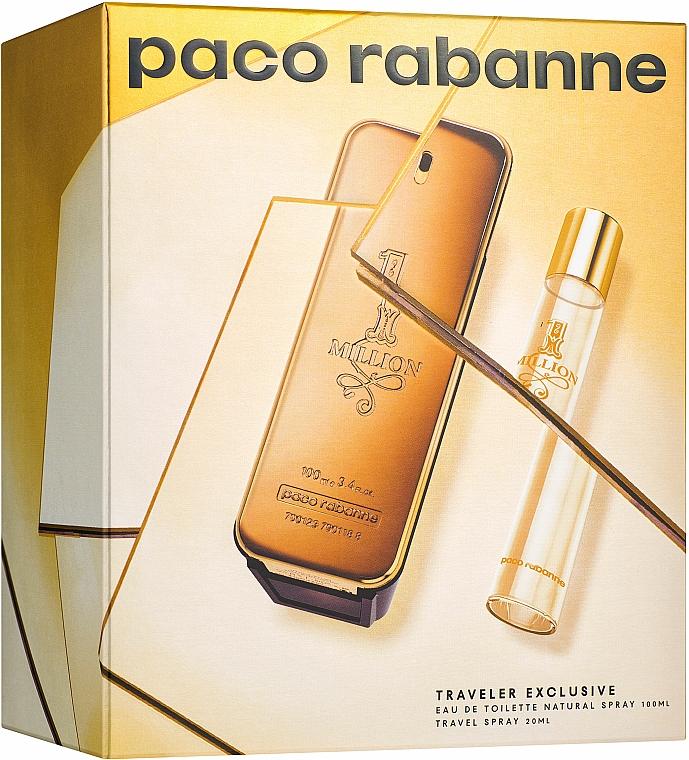 Paco Rabanne 1 Million - Set (edt/100ml + edt/20ml)