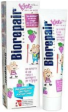 """Parfumuri și produse cosmetice Pastă de dinți """"Șoricel vesel"""", struguri - Biorepair Kids Milk Teeth"""