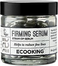 Parfumuri și produse cosmetice Ser cu efect de întărire pentru față, capsule - Ecooking Firming Serum in Capsules