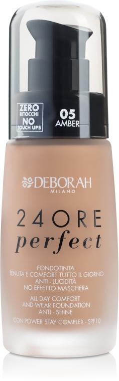 Fond de ten cu efect de lungă durată - Deborah 24Ore Perfect Foundation