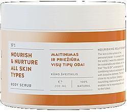 Parfumuri și produse cosmetice Exfoliant nutritiv pentru corp - You & Oil Nourish & Nuture