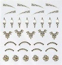 """Parfumuri și produse cosmetice Abțibilduri pentru unghii """"Perlă"""" - Peggy Sage Decorative Nail Stickers Jewel"""