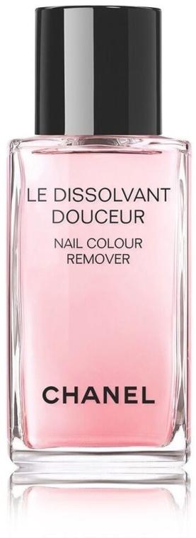 Soluție pentru îndepărtarea ojei - Chanel Le Dissilvant Douceur Nail Colour Remover  — Imagine N1