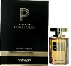 Parfumuri și produse cosmetice Al Haramain Portfolio Royale Stallion - Apă de parfum