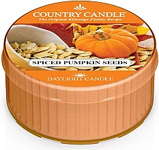 Parfumuri și produse cosmetice Lumânare aromată - Country Candle Spiced Pumpkin Seeds Daylight