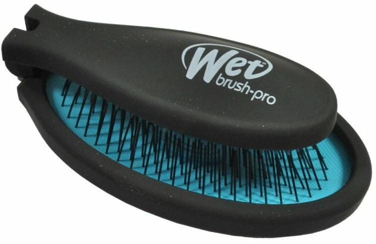 Pieptene compact - Wet Brush Pop Fold Cool Blue — Imagine N1