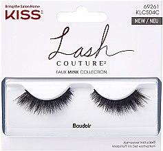 Parfumuri și produse cosmetice Gene false - Kiss Lash Couture Faux Mink Collection Boudoir