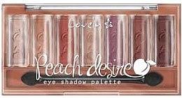 Parfumuri și produse cosmetice Paletă cu fard - Lovely Peach Desire